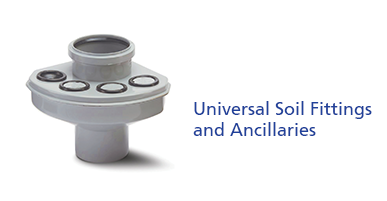 Universal Soil Fittings and Ancillaries